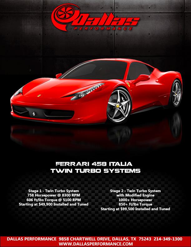 Twin Turbo Tuning