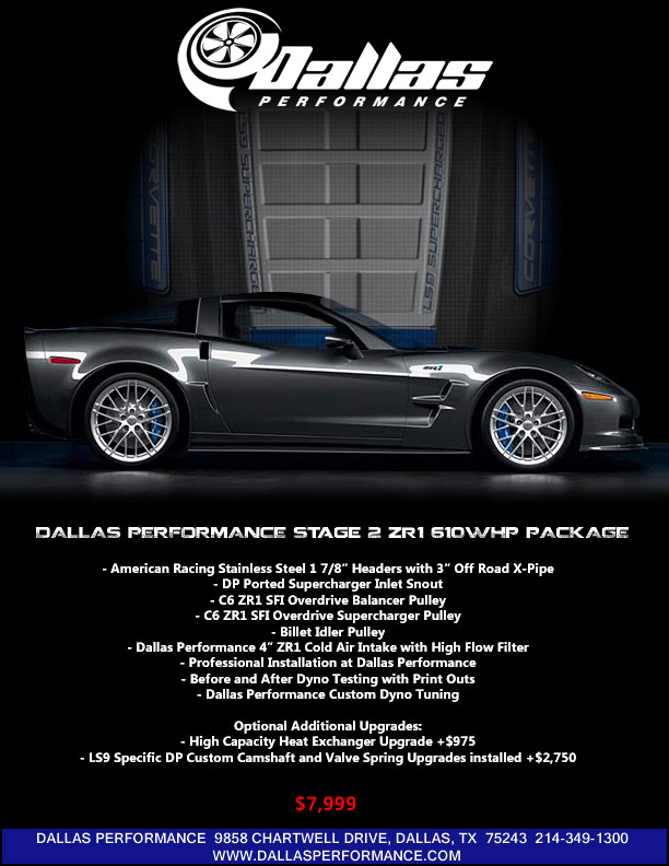 Dallas Performance | Tuning For High-Performance Cars